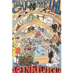 """Image of Red Grooms, """"Guggenheim,"""" Lithograph Poster"""