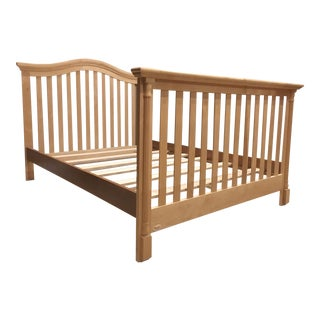 Full Sized Maple Wood Bedframe