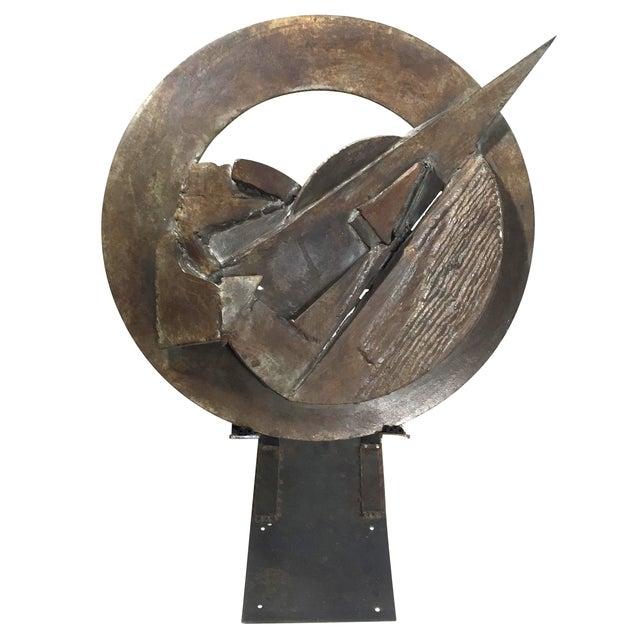 Brutalist Sculpture 1960 Iron - Image 1 of 11