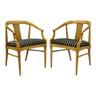 Thomasville Tamerlane Dining Chairs - A Pair