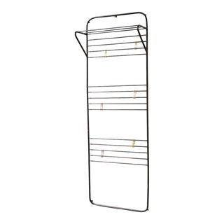 Coen de Vries Wall Mount Coat Rack with Wire Hooks