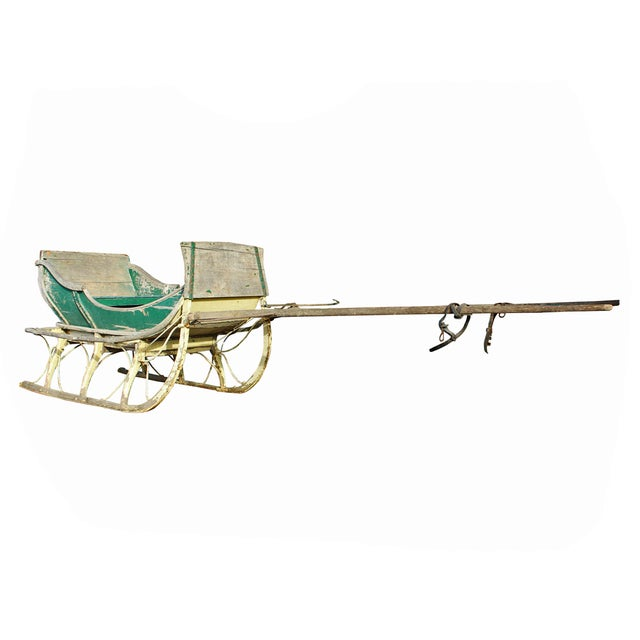 Antique Late 19th Century Industrial Cutter Sleigh - Image 3 of 7