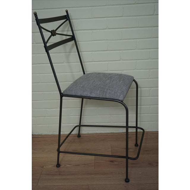 Pair of Luxury Hand Forged Counter Stools - Image 5 of 10