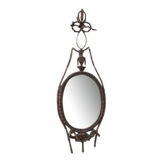 Gilt Wood Carved Italian Mirrors - A Pair