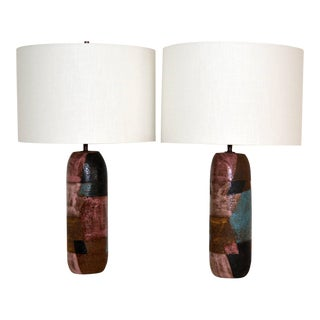 1950's Raymor Table Lamps - A Pair