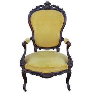 French Side Chair, French Louis XV Baroque Style