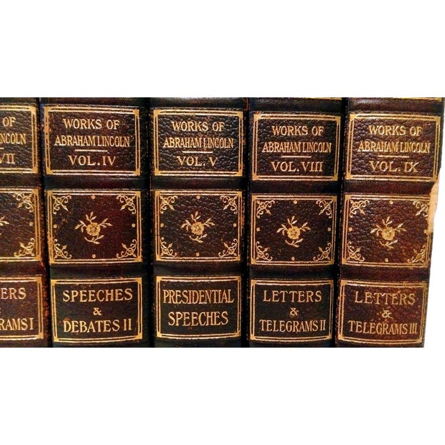 """Limited Ed. 1907 """"Works of Abraham Lincoln"""" - 8 - Image 3 of 10"""