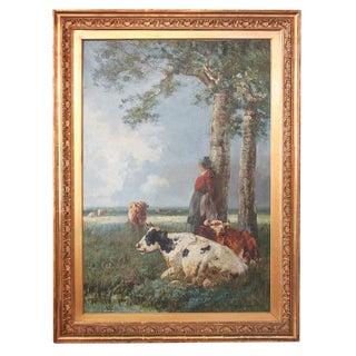 19th c. English Pastoral Scene