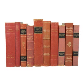 Leather-Bound Books S/10