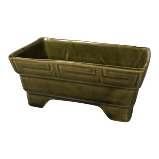 Light Green Ceramic Planter
