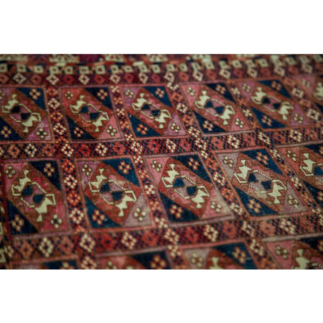 "Antique Turkmen Square Rug - 2'8"" X 3'1"" - Image 9 of 9"