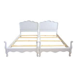 Drexel French Provincial Twin Beds - A Pair