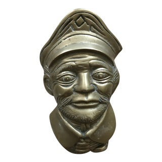 Nautical Solid Brass Ship Captain Door Knocker