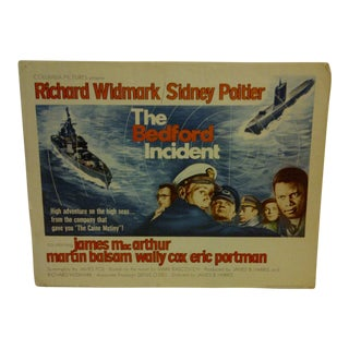 "Vintage ""The Bedford Incident"" 1965 Movie Poster"