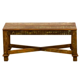 Reclaimed Solid Wood Antique Coffee Table