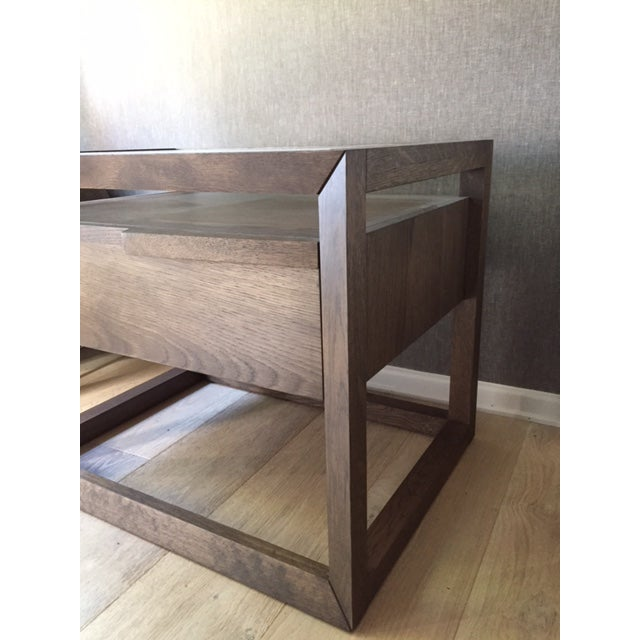 Modern Style Wooden Nightstand - Image 5 of 7