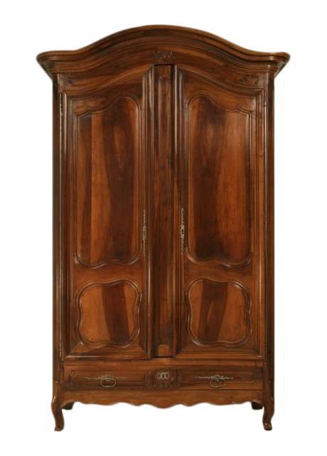 vintage antique furniture wardrobe walnut armoire. c1780 antique french walnut armoire vintage furniture wardrobe