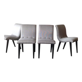 Conant Ball Scoop Dining Chairs - Set of 4