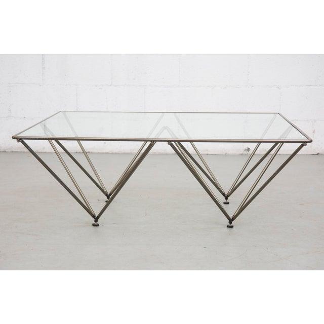 "Paolo Piva Style ""Alanda"" Pyramid Table - Image 4 of 8"