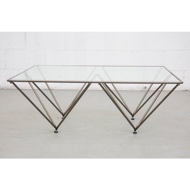 "Image of Paolo Piva Style ""Alanda"" Pyramid Table"