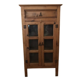 Vintage Farmhouse Apothecary Cupboard