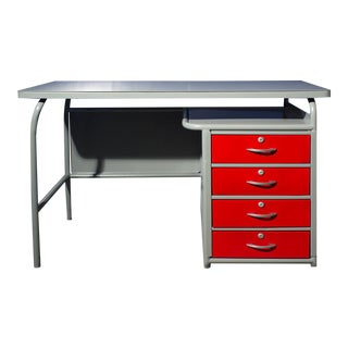 1950s American Seating Industrial Desk