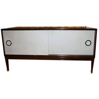 Ryan Parchment Door Rosewood Console