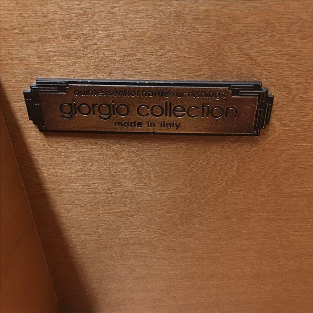 Giorgio Collection Parquet Dresser with Mirror - Image 7 of 10