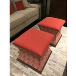 Image of Wesley Hall Comcavo Ottomans - A Pair