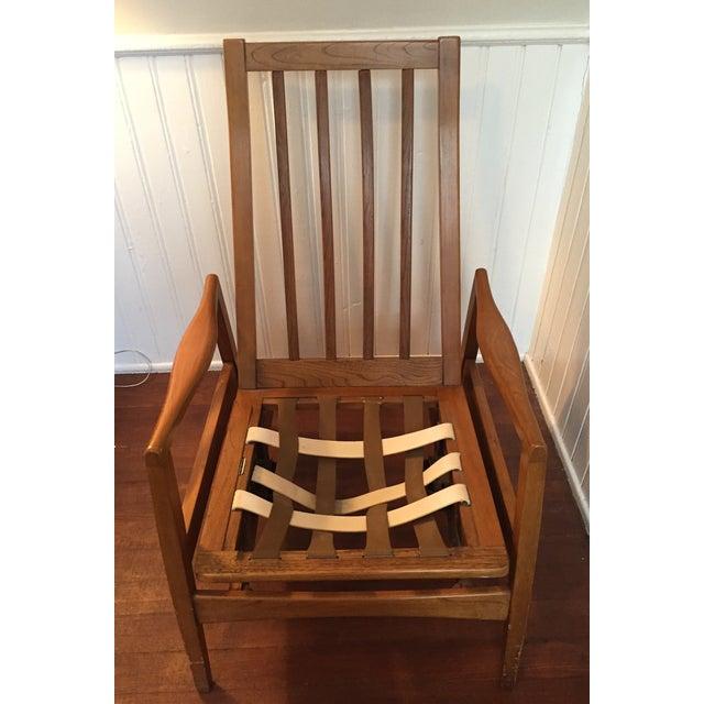 Vintage Mid-Century Modern Danish Lounge Chair - Image 7 of 9