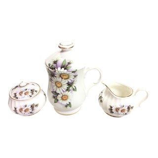 Miniature Porcelain Tea/Coffee Set - Set of 3