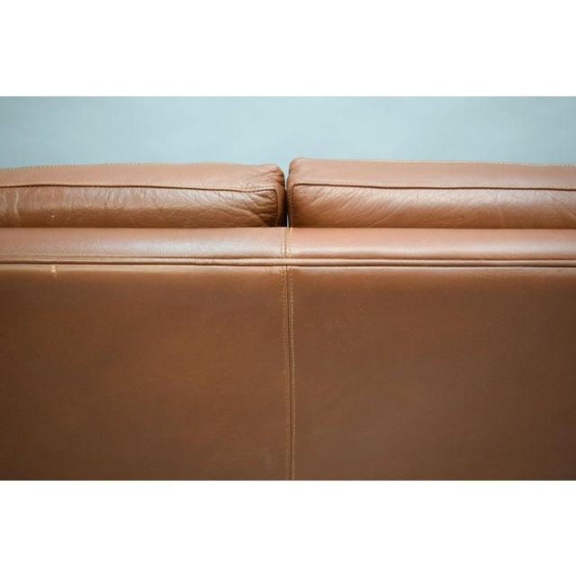 On Hold - Borge Mogensen Style Danish 3 Seater Leather Sofa - Image 7 of 10