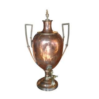 Vintage English Copper Samovar