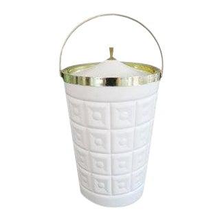 Vintage Mid-Century Lustro Ware Tall Ice Bucket