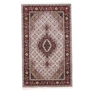 Persian Tabriz Style Hand Made Rug- 3' x 5'