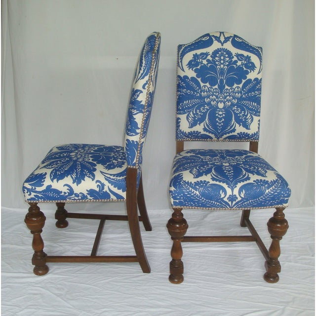 Unique Upholstered Chairs: Custom Stroheim Upholstered Dining Chairs - 4