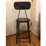 Image of Antique Hallowell Machine Age Drafting Stool