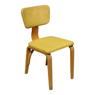 Thonet Mustard Bentwood Chair