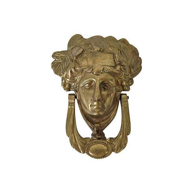 Image of Solid Brass Medusa Door Knocker