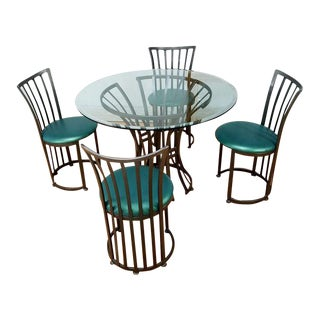 Mid Century Metal Patio Set by Shaver Howard Furniture Company