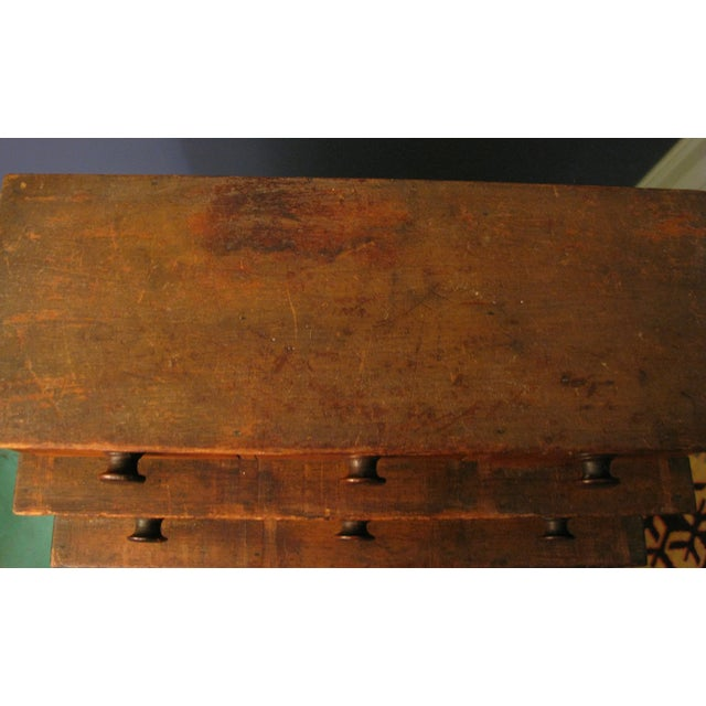 Early Original Graduated Apothecary Drawers - Image 8 of 11