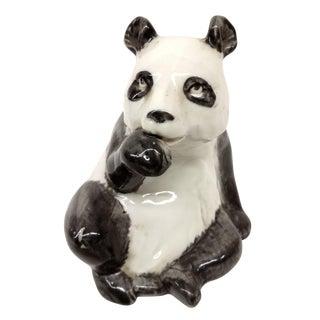 Antique Porcelain Panda Bear