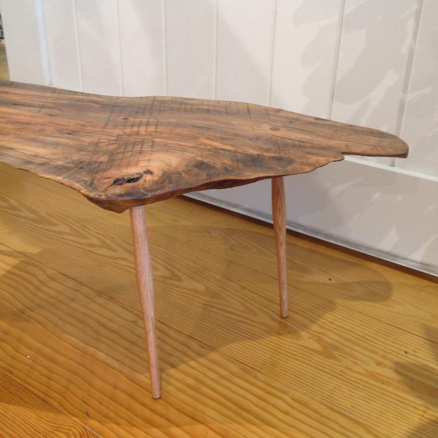 Live Edge Walnut Slab Coffee Table Chairish