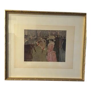 Toulouse Lautrec Reproduction Moulin Rouge Print