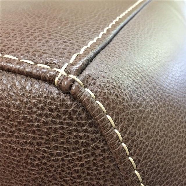 Roche Bobois Urban Leather Loveseat - Image 4 of 10