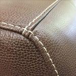 Image of Roche Bobois Urban Leather Loveseat