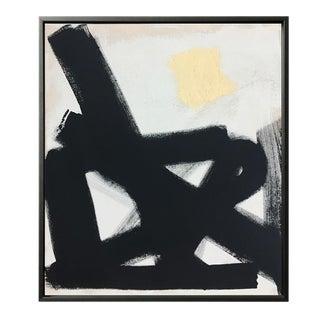 Abstract Black Path No. Framed Print