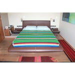 Image of Green Sarape Coverlet