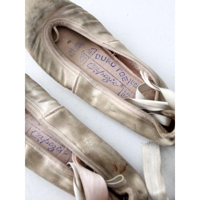 Vintage Capezio Duro Toe Ballet Slippers - A pair - Image 5 of 7