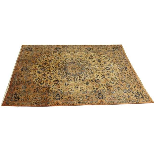 "Persian Mashad 10'10"" x 8' Rug - Image 1 of 5"